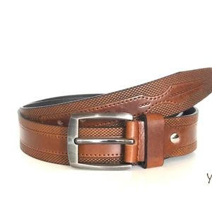 Other - Men's Leather Embossed belt